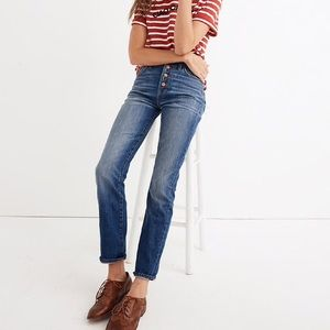 Madewell NWT Perfect Vintage Jean 30 TALL